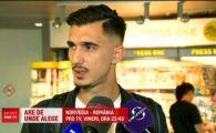 Andrei Ivan i-a dat raspunsul lui Becali! Ofertat de FCSB, atacantul nationalei U21 a vorbit la revenirea in tara!