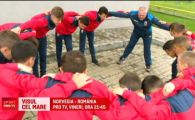 NORVEGIA - ROMANIA, VINERI 21:45 LA PRO TV | Romania va avea si o galerie formata din copii! Castigatorii de la Cupa Satelor vor zbura cu nationala in Norvegia