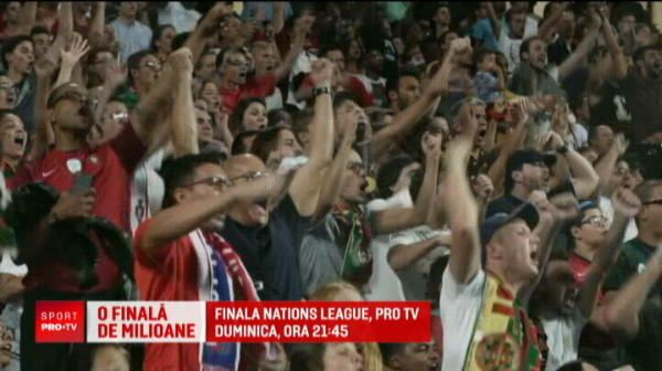 35 de milioane de euro ofera UEFA celor 4 echipe care lupta pentru trofeul Nations League! Prima finala din istorie e la PRO TV, duminica, la 21:45
