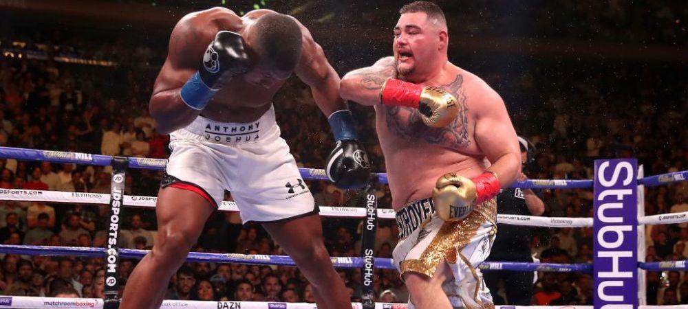 Regele Greilor se ridica! Anthony Joshua i-a cerut revansa lui Andy Ruiz dupa ce a fost facut KO la New York! Cand va avea loc lupta!