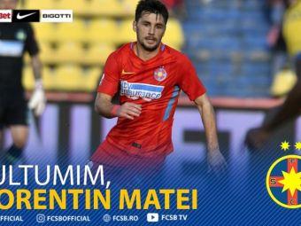 OFICIAL   Florentin Matei nu mai este jucatorul FCSB! Anuntul facut de club