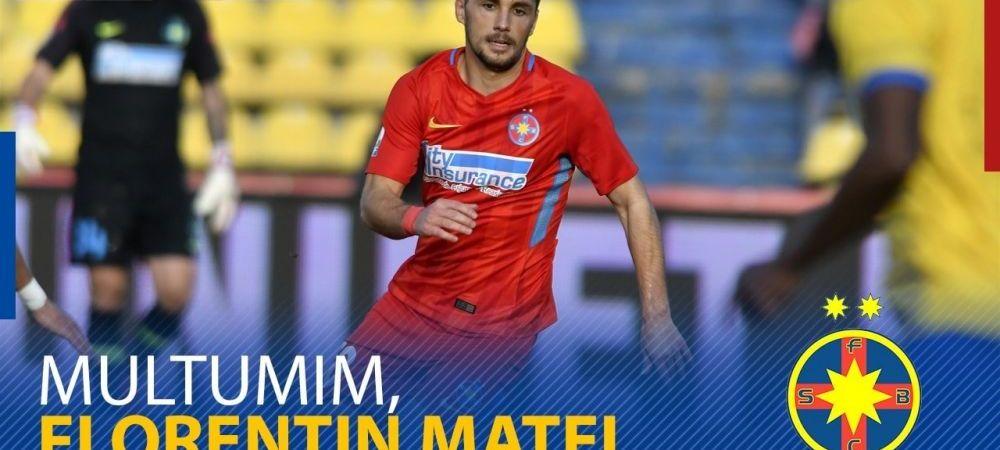 OFICIAL | Florentin Matei nu mai este jucatorul FCSB! Anuntul facut de club