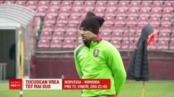 NORVEGIA - ROMANIA, VINERI 21:45 LA PRO TV | Tucudean o lasa pe CFR pentru un club din Vest! Meciul nationalei i-ar putea aduce transferul