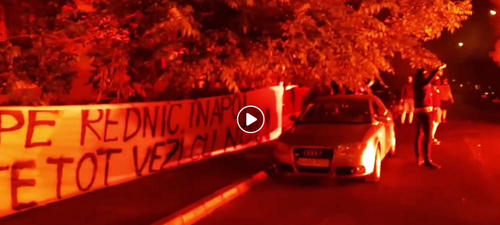 HAOS TOTAL la Dinamo! Fanii din PCH au aprins torte acasa la Balanescu si il cer pe Rednic inapoi! Rasturnare de situatie in cazul lui Neagoe