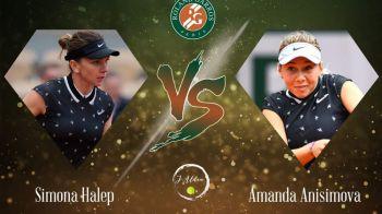 SIMONA, OUT DE LA ROLAND GARROS! Anisimova, MONSTRU in fata Simonei! E prima jucatoare nascuta dupa 2000 care ajunge in semifinala de Grand Slam! Unde a castigat meciul