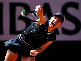 SIMONA HALEP - AMANDA ANISIMOVA 2-6 4-6 | Cati bani va primi Simona dupa parcursul de la Roland Garros