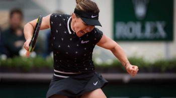 """""""N-am fost la nivelul meu cel mai bun, nu m-am simtit foarte bine!"""" Simona revine cu explicatii dupa eliminarea de la Roland Garros"""