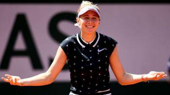 ROLAND GARROS 2019   Salt urias facut de Anisimova in clasamentul WTA dupa ce a batut-o pe Halep! Pe ce loc urca jucatoarea de 17 ani