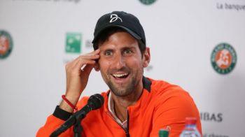 """ROLAND GARROS 2019   Novak Djokovic, pus pe glume la conferinta de presa! """"Sa vad si la baieti mai multe surprize, dar nu in meciurile mele"""" :)"""
