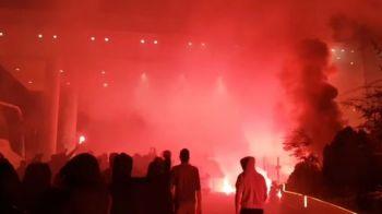 """Mesajul INCREDIBIL afisat de fanii lui Dinamo in fata hotelului detinut de Ionut Negoita! """"Finanteaza cel mai mare bordel"""""""