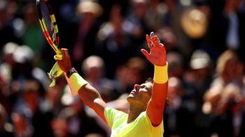 RAFA NADAL, A 12-A FINALA LA ROLAND GARROS | Nadal l-a spulberat in semifinale pe Federer si isi asteapta adversarul