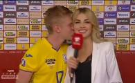 Nu s-a mai putut abtine! Un jucator de la Manchester City a pupat reporterul imediat dupa interviu! Cum a reactionat blonda