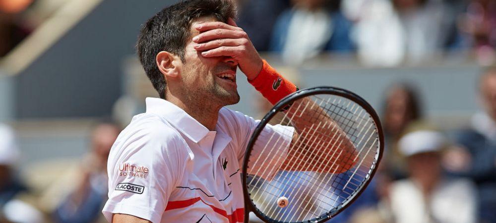 """ROLAND GARROS 2019   Djokovic, cu nervii la pamant dupa ce a pierdut semifinala cu Thiem! """"Asta s-a intamplat cu adevarat"""" Sarbul nu s-a mai putut stapani"""