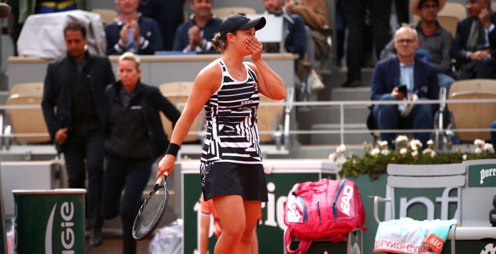 Ashleigh Barty este urmasa Simonei Halep! Australianca, noua campioana de la Roland Garros! Victorie fara emotii in fata Marketei Vondrousova