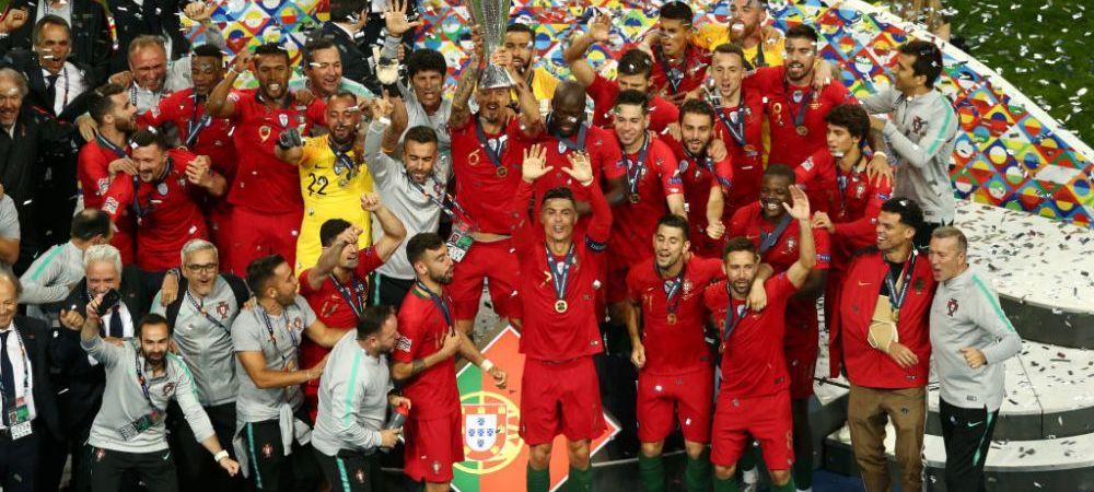 PORTUGALIA CASTIGA PRIMA EDITIE UEFA NATIONS LEAGUE! Golul superb al lui Guedes e suficient pentru primul trofeu din istoria acestei competitii. PORTUGALIA 1-0 OLANDA - TOATE FAZELE AICI