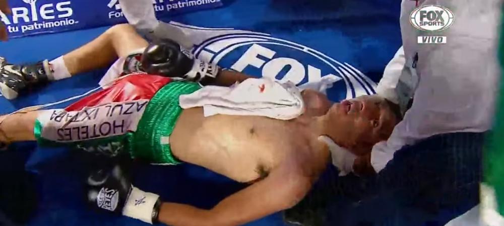 Boala care ii omoara pe boxeri in ultimii ani. Inca un mexican este in coma, la spital! VIDEO SOCANT
