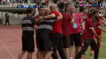I-au UCIS in doua minute!!! Sibiul marcheaza de doua ori in doua minute si e aproape de ramanerea in Liga 1!!! U Cluj 0-2 Sibiu