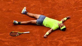 """RAFAEL NADAL, al 12-lea titlu la Roland Garros! """"Regele zgurii"""", victorie uriasa in finala cu Dominic Thiem"""
