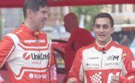 Marian Dragulescu a fost copilotul lui Mihai Leu intr-o masina de 300 de mii de euro! Gimnastul a prins gustul curselor!