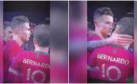"Cristiano Ronaldo: ""No, no, no!"" Reactie incredibila cand un coleg a fost desemnat jucatorul turneului. VIDEO"