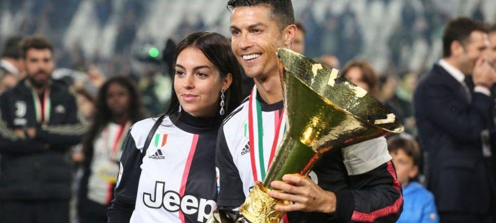 """Cristiano Ronaldo, campion la toate capitolele! Georgina, moment special pentru starul portughez dupa finala UEFA Nations League! """"Esti cel mai bun!"""""""
