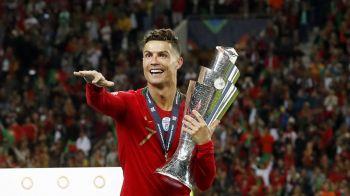 """Cristiano Ronaldo a vorbit despre RETRAGERE dupa ce a ridicat trofeul Nations League: """"Portugalia are viitor, cu sau fara mine!"""""""