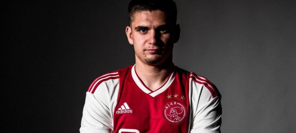 Razvan Marin, salt important in clasamentul celor mai scumpi fotbalisti romani ai momentului! La cat a ajuns cota sa dupa transferul la Ajax