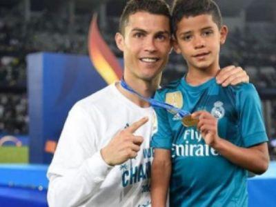 Surpriza totala! La 9 ani, fiul lui Cristiano Ronaldo a primit oferta sa plece de la Juventus! Ce fosta echipa a lui Ronaldo il vrea