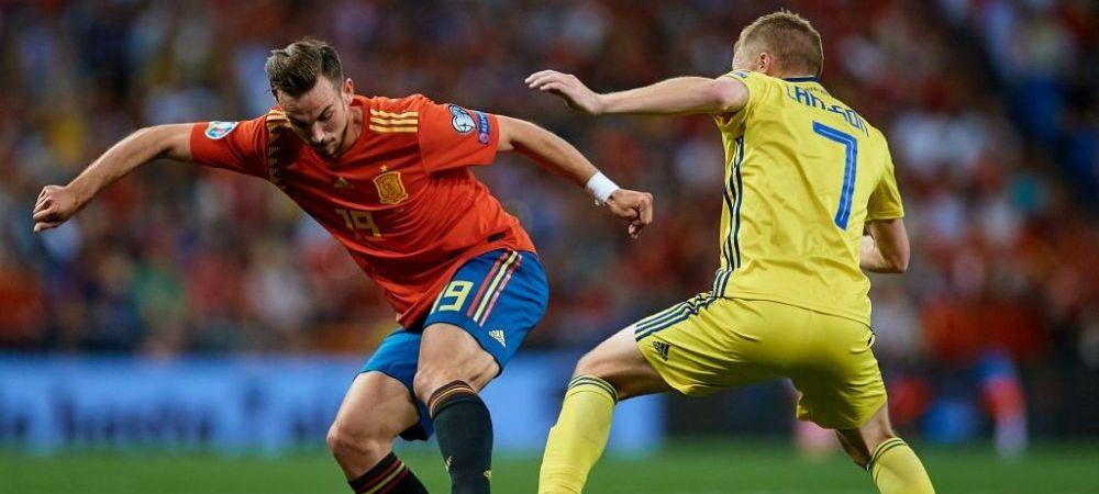 """Situatie INCREDIBILA! Un jucator din nationala Suediei a fost amenintat cu moartea dupa infrangerea cu Spania! """"Sunt ingrijorat de ura din jurul nostru!"""""""