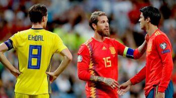 Gestul FABULOS al lui Sergio Ramos din meciul cu Suedia! Ce a facut capitanul ibericilor! VIDEO