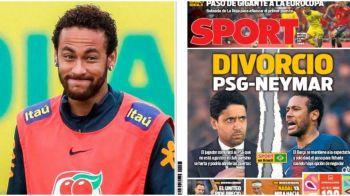 """""""DIVORCIO TOTAL"""". Catalanii fac anuntul bomba: viitorul lui Neymar la PSG tocmai s-a lovit de zid! Cum vede Barcelona situatia"""