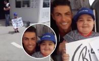 """""""Ooopreste autocarul!"""" Ronaldo si gestul care merita toate aplauzele din lume: a oprit autocarul Portugaliei pentru a saluta un copil bolnav. VIDEO"""