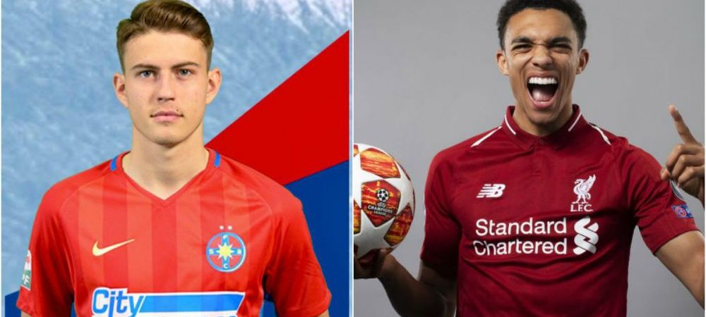 Ce au in comun FCSB si Liverpool? Amandoua au cate un Alexandru-Arnold! :) Cine este fotbalistul luat de Bogdan Andone la prima echipa a FCSB-ului