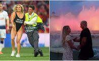 Kinsey Wolanski a lovit din nou! Ce cascadorie a facut cu iubitul ei in Barcelona. VIDEO