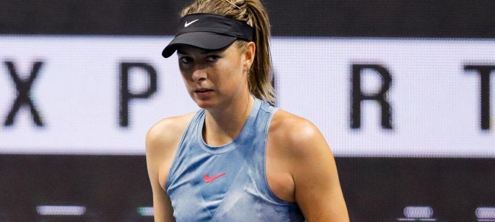 Maria Sharapova revine in circuit dupa o pauza de cinci luni! Anuntul oficial: unde va juca tenismena din Rusia