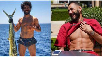 Salah a prins pestele cel mare, Benzema isi bronzeaza abdomenul. Cum isi petrec fotbalistii vacanta vara. FOTO