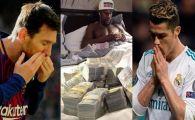 Floyd Mayweather nici nu mai intra in clasament! Cum arata TOP 10 Forbes al celor mai bine platiti sportivi din lume: Messi si Ronaldo sunt pe primele 2 locuri