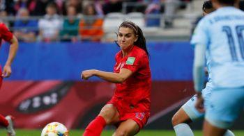 Scor pentru istoria fotbalului la Campionatul Mondial de fotbal femninin: SUA, cea mai mare victorie inregistrata vreodata! Ce s-a intamplat in meciul cu Thailanda