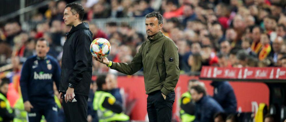 Anuntul facut de Luis Enrique dupa mai multe meciuri in care a lipsit de pe banca Spaniei! Urmatorul meci e cu Romania, in septembrie, la ProTV