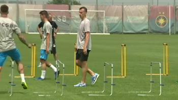 Surpriza TOTALA! Jucator de milioane de euro de la Napoli la antrenamentul de azi al FCSB! :)