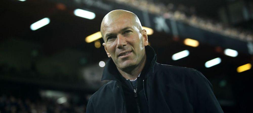 """Zidane i-a convins pe sefii de la Real! """"Stai linistit, copile, contez pe tine"""" Jucatorul pe care oficialii voiau sa-l imprumute, in prim-plan pentru Realul noului sezon"""