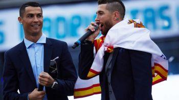 """Cristiano Ronaldo, ramas in afara """"lotului"""": Sergio Ramos nu l-a trecut pe lista de 500 de invitati pentru nunta din weekend"""