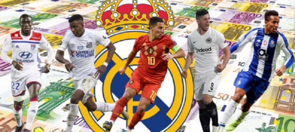 Real Madrid, cea mai scumpa campanie de achizitii din istorie! Si e abia iunie! Cati bani au cheltuit madrilenii in 2009, cand i-au luat pe Ronaldo, Kaka si Benzema