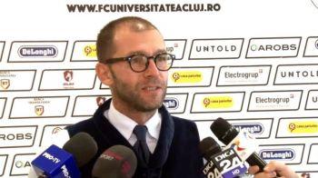 U Cluj isi pune antrenor din Play Off-ul Ligii 1 dupa ce a pierdut barajul cu Hermannstadt! Cine ii ia locul lui Bogdan Lobont