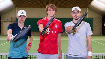 Super provocare cu Muller, Hummels si Zverev! Noua senzatie din tenis i-a testat pe jucatorii lui Bayern Munchen! Cum s-au descurcat! FOTO + VIDEO