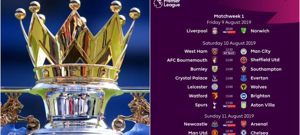 Manchester United - Chelsea, primul derby al noului sezon din Premier League! Englezii au tras la sorti programul! Cu cine vor juca City si Liverpool in prima runda