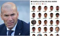 """Zidane trebuie sa renunte la 12 jucatori! Real Madrid are 37 de fotbalisti in lot si poate legitima doar 25 pentru La Liga! Jucatorii """"sacrificati"""""""