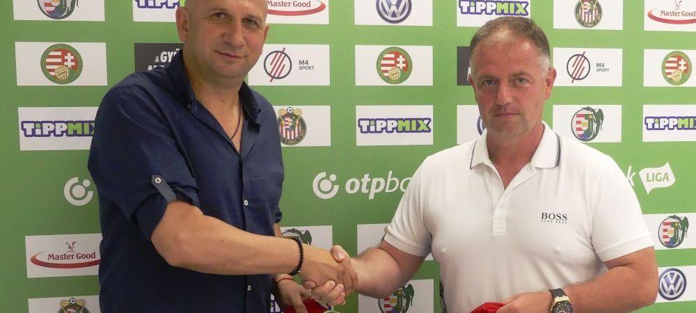 Vasile Miriuta a semnat cu o echipa in Ungaria! Antrenorul a fost prezentat deja