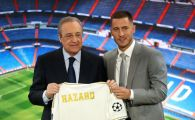 """LIVE VIDEO Eden Hazard, prezentat oficial de Real Madrid! Prima reactie a jucatorului belgian! Multimea de pe Bernabeu a strigat: """"Il vrem pe Mbappe!"""""""