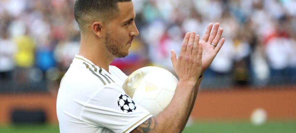 """""""L-am cerut, dar mi-a zis NU!"""" Cum a ramas Eden Hazard fara numarul dorit la Real Madrid! Anuntul facut la prezentarea oficiala"""